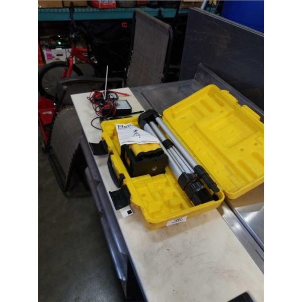 LASER LEVEL, 2 ELECTRICAL TESTERS AND DIGITAL THERMOMETER