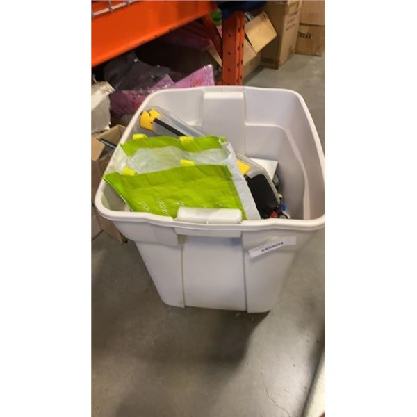 LARGE TOTE OF LEGO