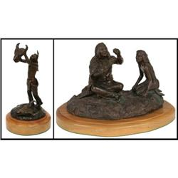 James Regimbal, Two Bronze Sculptures
