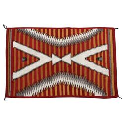 Navajo Weaving, Eye Dazzler Elements, c. 1930s