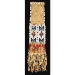 Sioux Beaded Pipebag, 19th century