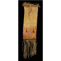 Sioux Indian Pipe Bag, c. 1880s