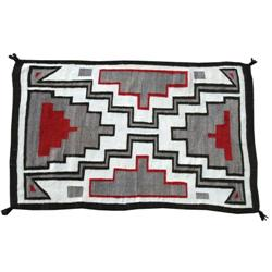Navajo Weaving, Crystal Storm Pattern, c. 1920