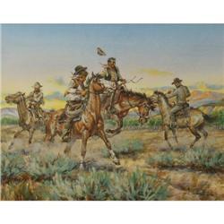 Jack Hines, Watercolor