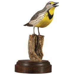 Connie Tveten, Bird Woodcarving