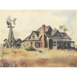 James Erwin Boren, Watercolor