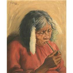 Elizabeth Lochrie, Oil on Canvas On Board