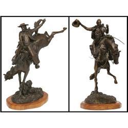 James Regimbal, Two Bronze Sculptures