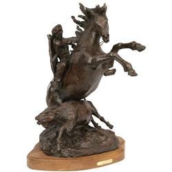 Bob Scriver, Bronze Sculpture