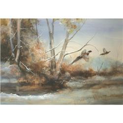 Tom Sander, Watercolor