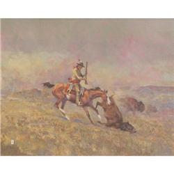 Ace Powell, Oil on Canvas