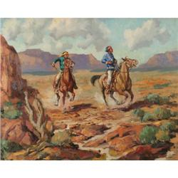 Marco Antonio Gomez, Oil on Canvas