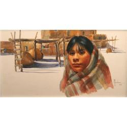 Glenna Goodacre, Watercolor