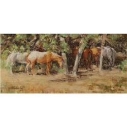 Arlene Hooker Fay, Watercolor