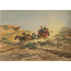 Lloyd Harting, Watercolor