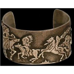 Indian Bracelet, Overlaid designs
