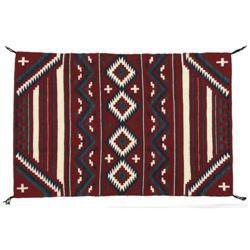 Navajo Child's Blanket, Evelyn Yazzie