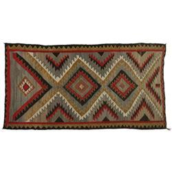 Navajo Weaving, Eye Dazzler Elements, c. 1930s