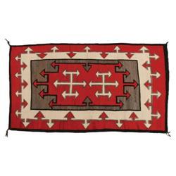 261: Navajo Rug, Ganado-Hubbell Trading Post