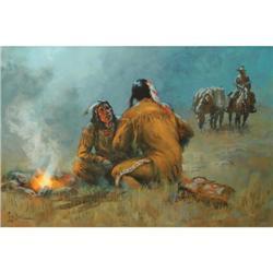 273: Lyle Tayson, Oil on Canvas