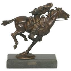 282: Harry Jackson, Bronze Sculpture