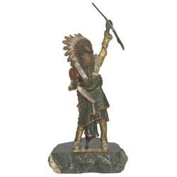 283: Carl Kauba, Bronze Sculpture