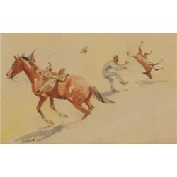 287: Edward Borein, Watercolor