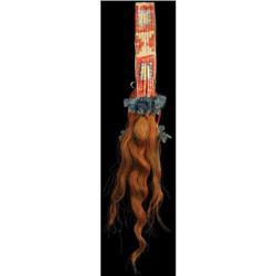 291: Sioux Hair Drop, Quillwork