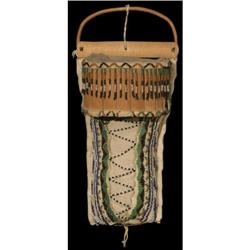 299: Small Apache Cradle, Beaded