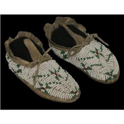 302: Sioux Baby Moccasins, c. 1890s
