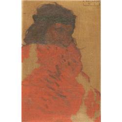 304: Lon Megargee, Oil on Canvas