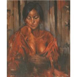 305: Ramon Kelley, Oil on Canvas