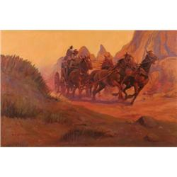 306: W. Steve Seltzer, Oil on Canvas
