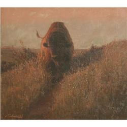 308: John Innes, Oil on Canvas