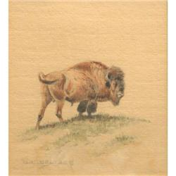 320: Olaf C. Seltzer, Watercolor