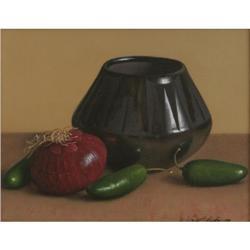 326: William Acheff, Oil on Canvas