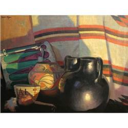 327: Frederic Mizen, Oil on Canvas