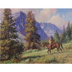 329: Martin Grelle, Oil on Canvas