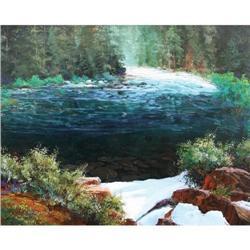 330: Tom de Decker, Oil on Canvas