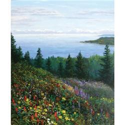 331: Tom de Decker, Oil on Canvas
