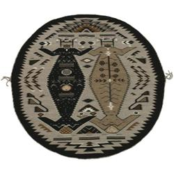336: Navajo Weaving, Toadlena/Two Grey Hills