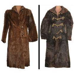 341: Two Horsehair Hide Coats