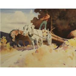 350: Gerard Curtis Delano, Watercolor