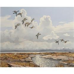 353: Hugh Monahan, Oil on Canvas