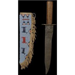 361: Northern Plains Style Parfleche Knife Case