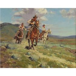 365: Jim C. Norton, Oil on Canvas