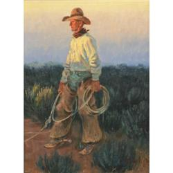 370: Joe Beeler, Oil on Canvas