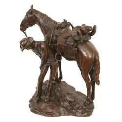 379: Bill Nebeker, Bronze Sculpture