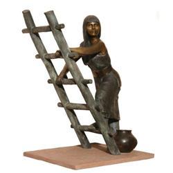 380: Doug Hyde, Bronze Sculpture