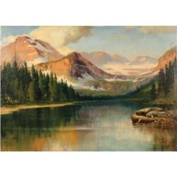 383: R. Atkinson Fox, Oil on Canvas